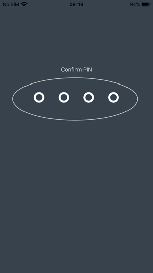 How to create a Sign In PIN 5-01