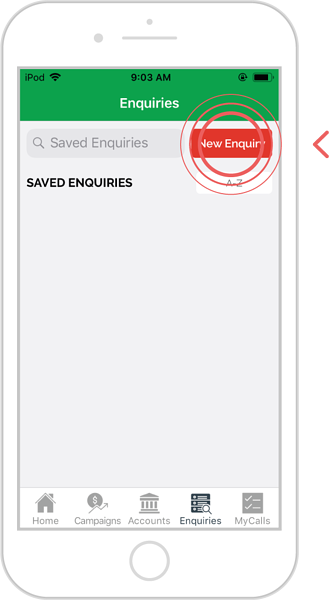 add additional filters to an enquiry - ios 1