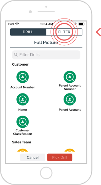 add additional filters to an enquiry - ios 3
