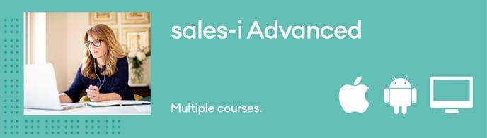 sales-i Advanced Courses