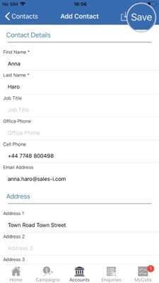 How to add a new contact - Apple 5