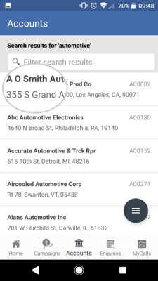 How to import contacts from your Android device to the sales-i app 2-01
