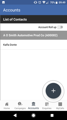 How to import contacts from your Android device to the sales-i app 4-01