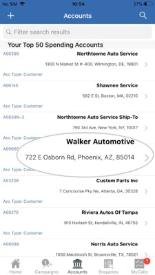 How to import contacts from your Apple device to the sales-i app 2-01