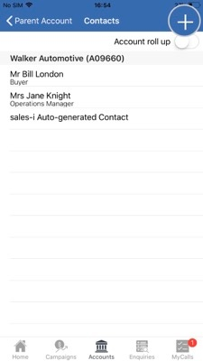 How to import contacts from your Apple device to the sales-i app 4-01