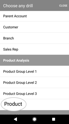 How to discover which customers have stoped buying a certain product 5-01