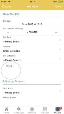 MyCalls Apple 7