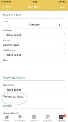 How to schedule a follow-up call 4 -01