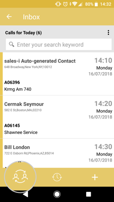 How to view and edit your team members mycalls on your android device 3-01