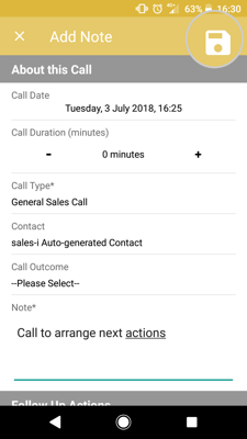 MyCalls Android 7
