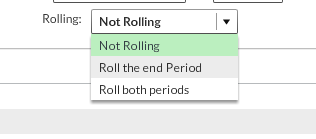 rolling dates explaination